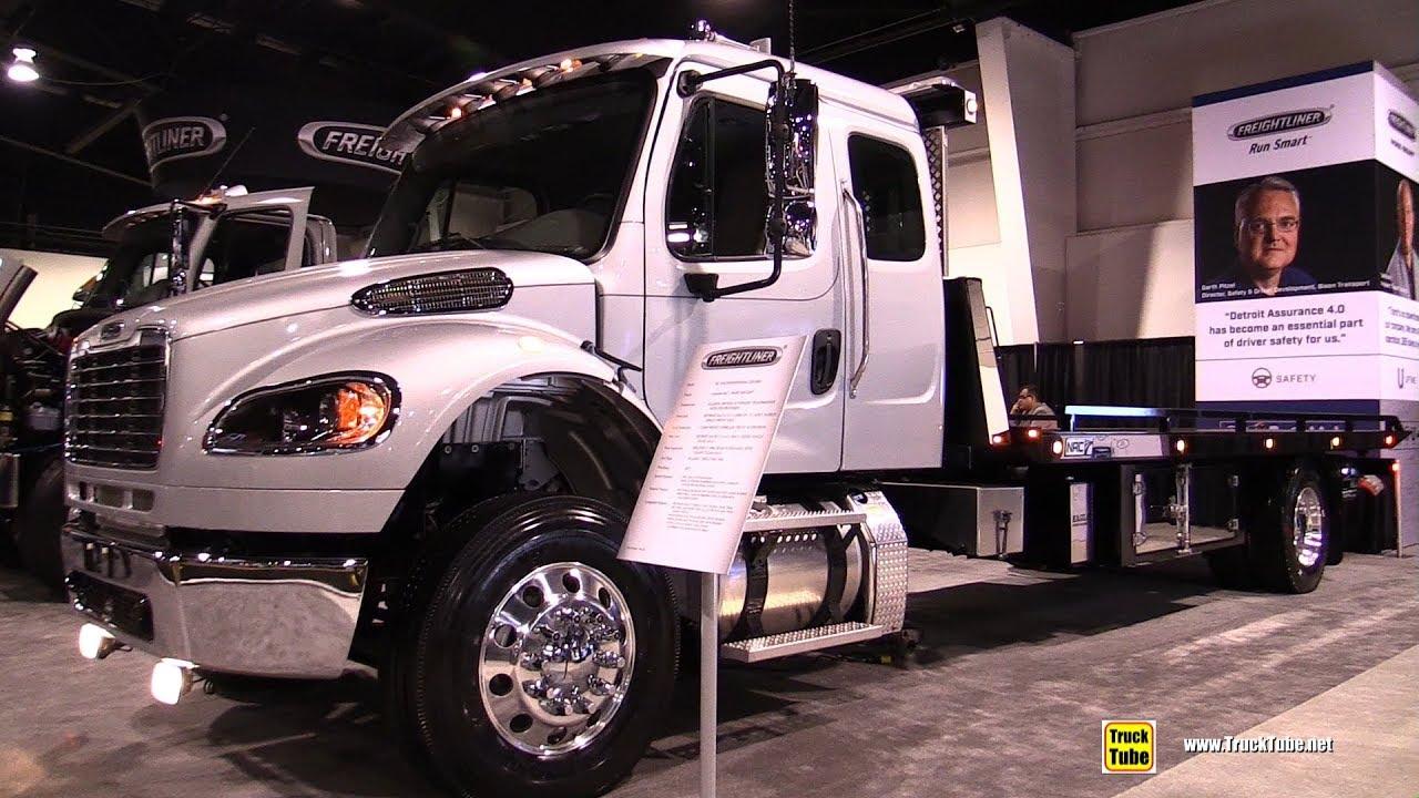 Freightliner M2 106 2018 Truck - Exterior Interior Walkaround - 2018  Truckworld Toronto