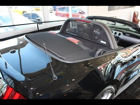 Wind deflector for 2015 to 2020 mustang convertible with lightbar wind deflector for 2015 to 2020 mustang convertible with lightbar cdc american muscle roush aloadofball Choice Image