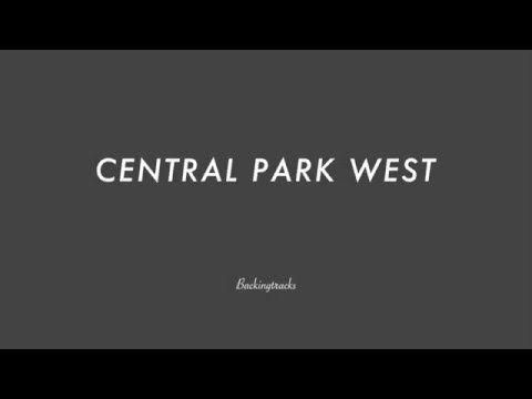 CENTRAL PARK WEST chord progression- Backing Track Play AlongJazz Standard Bible 2 Guitar
