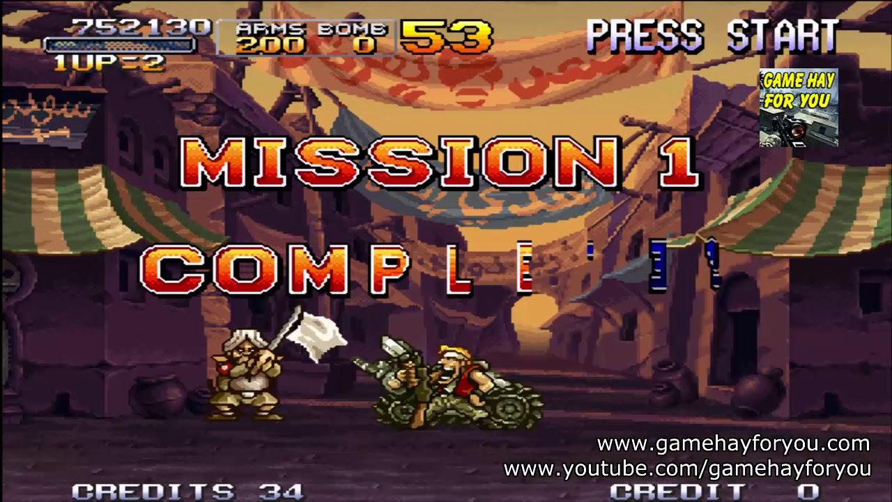 Tải và chơi game Metal Slug X | Chiến binh thép 10 | Rambo lùn 10 Neogeo trên máy tính