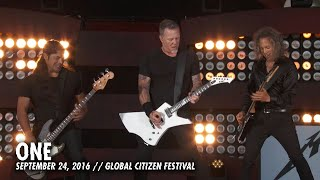 Repeat youtube video Metallica: One (Live - Global Citizen - New York, NY - 2016)