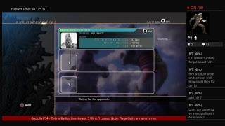 Godzilla PS4 - Online Battles Livestream (February 28, 2019)