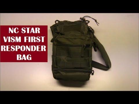 NC Star First Responder Bag: Everyday Carry / Emergency Bag