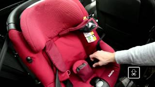 Maxi-Cosi | How to install the AxissFix car seat in your car