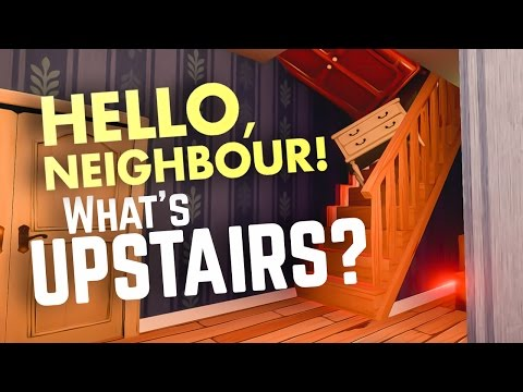 GETTING UPSTAIRS! - Hello Neighbour Secret Glitch (Hello Neighbor Pre Alpha Gameplay) thumbnail