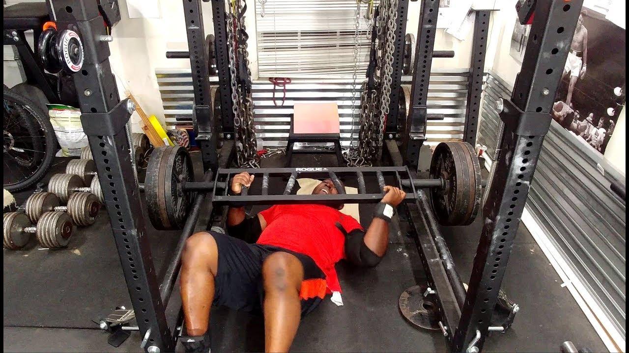 Building a bench press garage gym athlete youtube