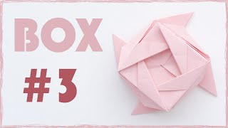 Paper Box tutorial. Paper Box origami. Easy to make