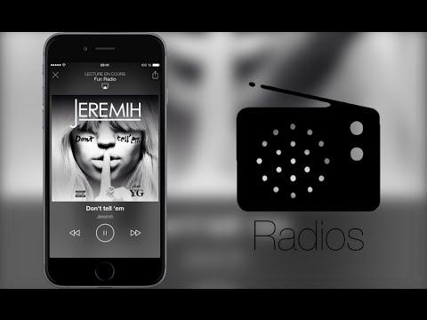 Radios App • Écoutez la radio sur votre iPhone avec du style