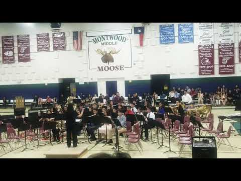 Songs Of The Whalemen * Performed By The Montwood Middle School Honor Band