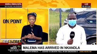 Zuma-Malema meeting I Julius Malema arrives in Nkandla