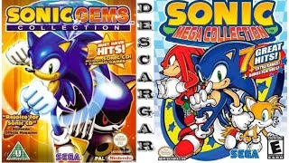 Descargar e instalar sonic mega collection y gems collection!