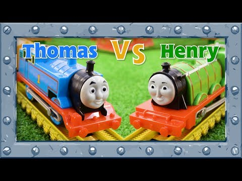 Thomas VS Henry  Thomas and Friends Competition Challenge  Accidents will Happen  Play&Learn 29