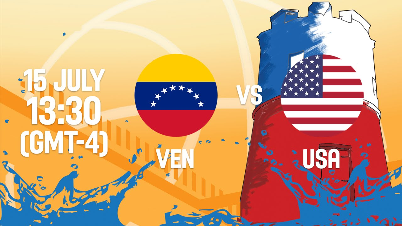 Venezuela v United States - Full Game - Group A - 2016 FIBA Americas U18 Women's Championship
