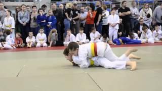 Międzynarodowy Turniej Młodzików i Dzieci w Judo - wybrane walki zawodników UKS Leśnik Kaczory
