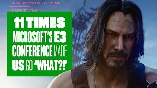 11 Times Microsoft's E3 2019 Conference Made Us Go 'What?!'