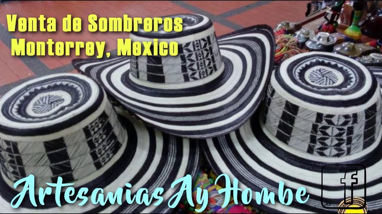 Venta de Sombreros Vueltiaos Colombianos en Monterrey 7e10f9ef1d2