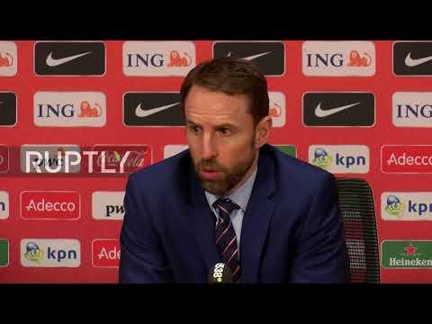 Netherlands: 'Great shame' - Gareth Southgate on arrest of 90 England fans for violence