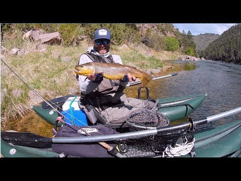 Fly Fishing The Green River From Pontoon Boats