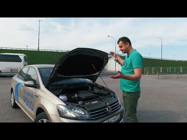 Тест драйв Polo Sedan 110 л.с. (НОВЫЙ ДВИГАТЕЛЬ)