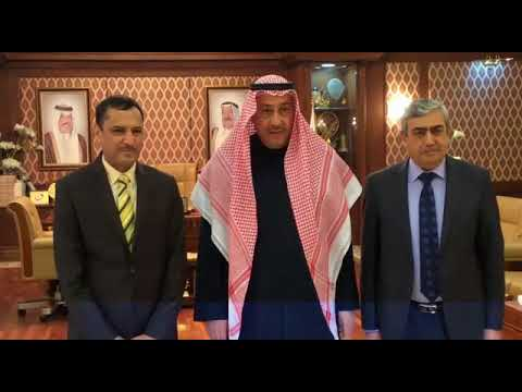 الشيخ فيصل الحمود مؤتمر الكويت لاعادة اعمار العراق يعكس حرص الكويت الانساني🇰🇼🇮🇶
