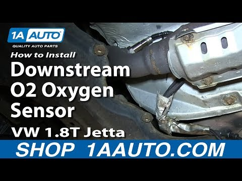 How to Replace Downstream O2 Oxygen Sensor Volkswagen 1.8T 99-05 Jetta