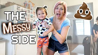 THE MESSY SIDE OF POTTY TRAINING | NO POOPING ON THE FLOOR!