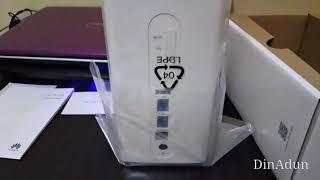 Unboxing Huawei B618-65d Malaysia