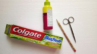 Watch this Video Before Throwing Toothpaste  Cover | Best out of Waste | Aloha Crafts