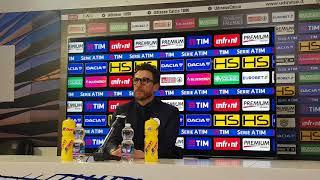 """Conferenza Di Francesco post Udinese: """"La squadra sta crescendo. Vittoria convincente"""""""