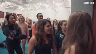 Stanford Women's Gymnastics: New Gear and Locker Room Reveal