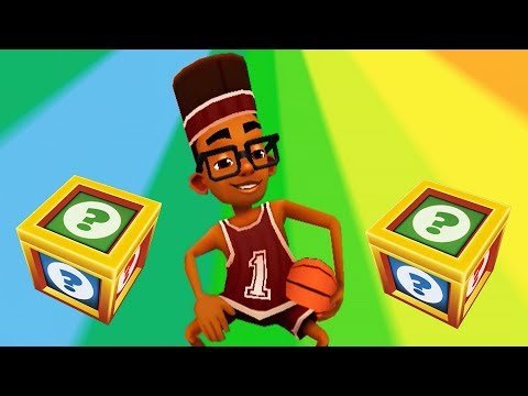 SUBWAY SURFERS GAMEPLAY HD - SINGAPORE ✔ FRESH - SPORT OUTFIT AND 30 MYSTERY BOXES OPENING