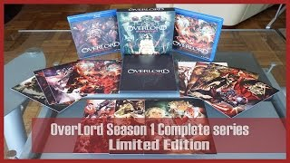 RightStuf Unboxing | OverLord Season One [Limited Edition] Blu-ray/DVD - 2016