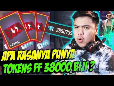 JUTAAN ORANG TIDAK TAU RASANYA PUNYA TOKENS FF 38RIBU! - FREE FIRE INDONESIA