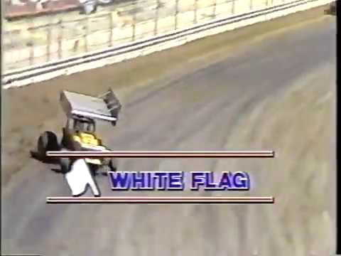 1982 - I-70 Speedway in Odessa, MO - World of Outlaws - Heat #1 continued - Video 3 of 12