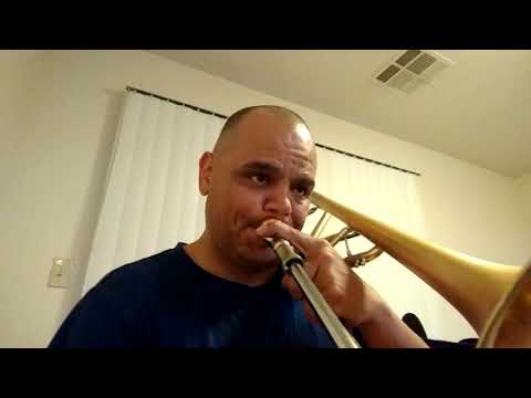 Trombone solo: Improvising on All of Me
