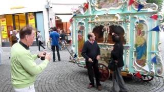 Street organ De Klok plays CALLING ALL WORKERS  , march by Eric Coates