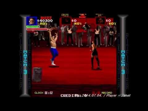 Pit Fighter 1CC - Buzz (Atari Arcade classic game)