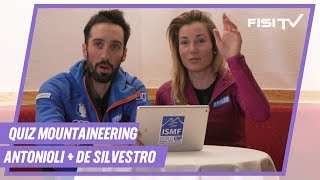 Quiz sullo Sci Alpinismo con Antonioli e De Silvestro