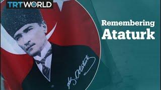 Turkish people remember Ataturk