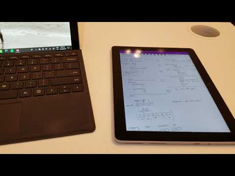 Surface Go - How I use it for work (OneNote)