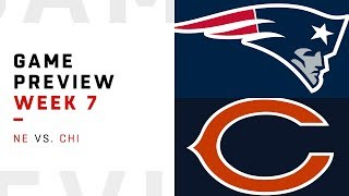 New England Patriots vs. Chicago Bears | Week 7 Game Preview | Move the Sticks