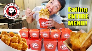 FIRST TIME Trying PANDA EXPRESS Review & SCARY STORY TIME!