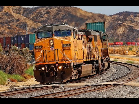 Union Pacific Freight Trains on the Yuma sub