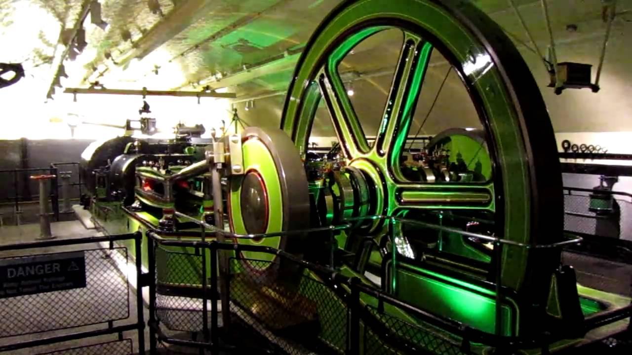 The Engine Room Inside Of Tower Bridge London United