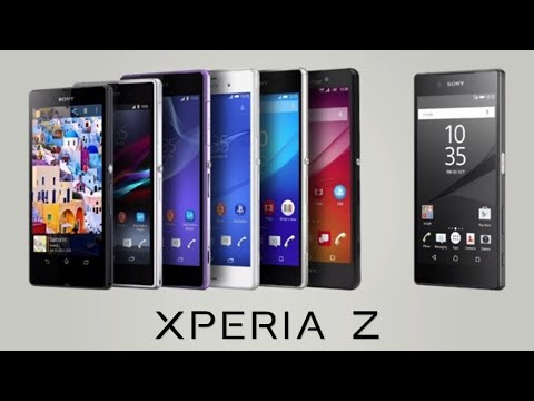 Evolution Of Sony Xperia Z Series Smartphones (2013 - 2015)