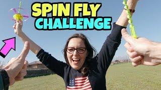SPIN FLY CHALLENGE: Proviamo a Lanciare e Prendere al Volo