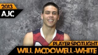 U16 AJC - Player Spotlight - Will McDowell-White (QLD South)
