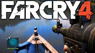 Far Cry 4 Funny Moments - Batman, Invisible Vehicles, Redneck Fishing (Funtage)