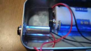 Lighting a match with my homemade laser