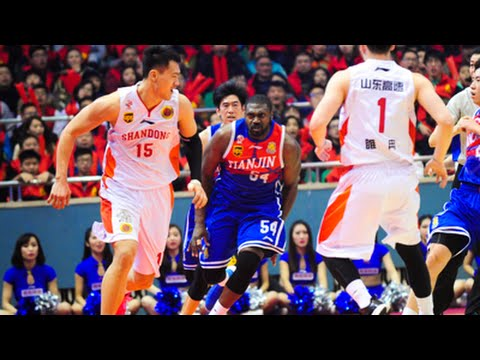 Jason Maxiel Chases Chinese Player after Elbowed | CBA Fight